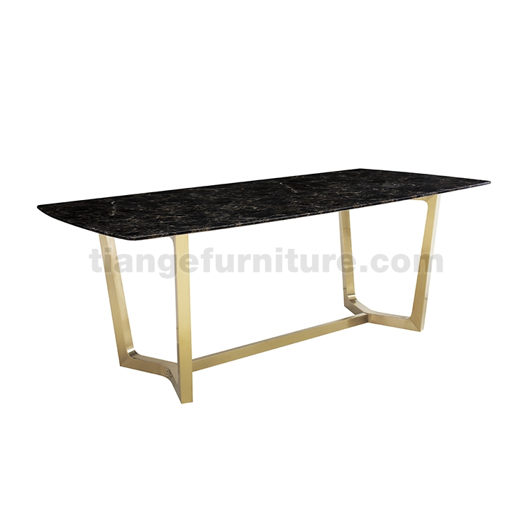 Marble Top Dining Table Poliform Concorde Table