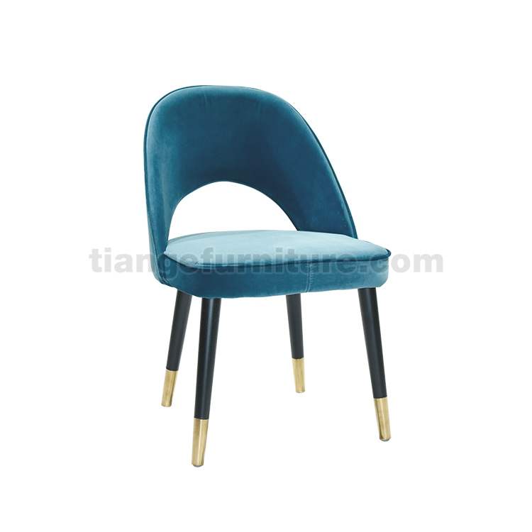 Superb Wood Legs Stainless Steel Gold Foot Dining Chair Dailytribune Chair Design For Home Dailytribuneorg