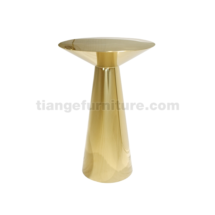 Modern Hoepel Brass bar Table
